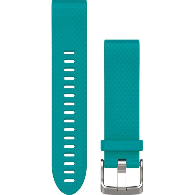 Garmin Quickfit 20 watch band - turquiose