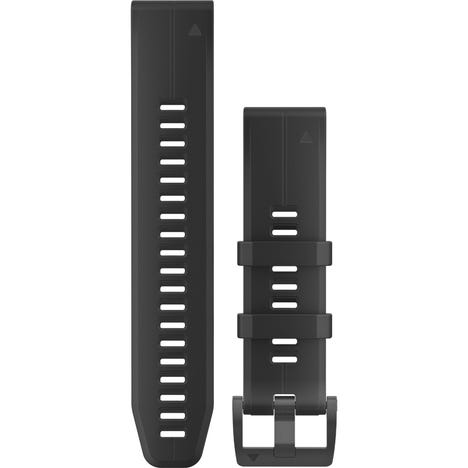 Quickfit 22 watch band - black black