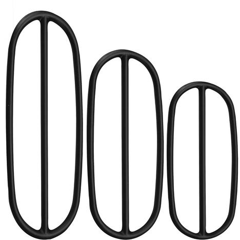 Cadence sensor replacement bands - pack of 3