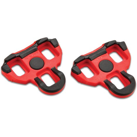 Vector pedal cleats - 6 degree float