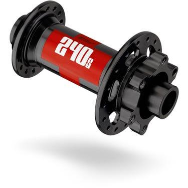 240s front hub disc 6-bolt 110 x 20 mm Boost, 28 hole black
