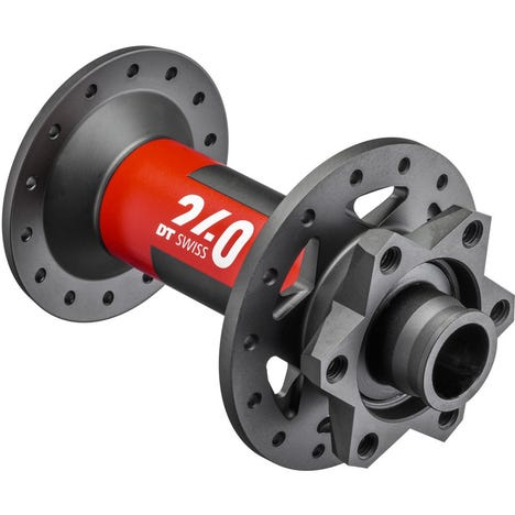 DT Swiss 240 EXP Classic front disc 6 bolt 110 x 15 mm Boost, 28 hole black