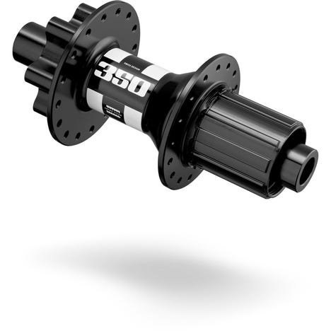 350 rear disc 6-bolt hub 32 hole Boost 148 / 12 mm black