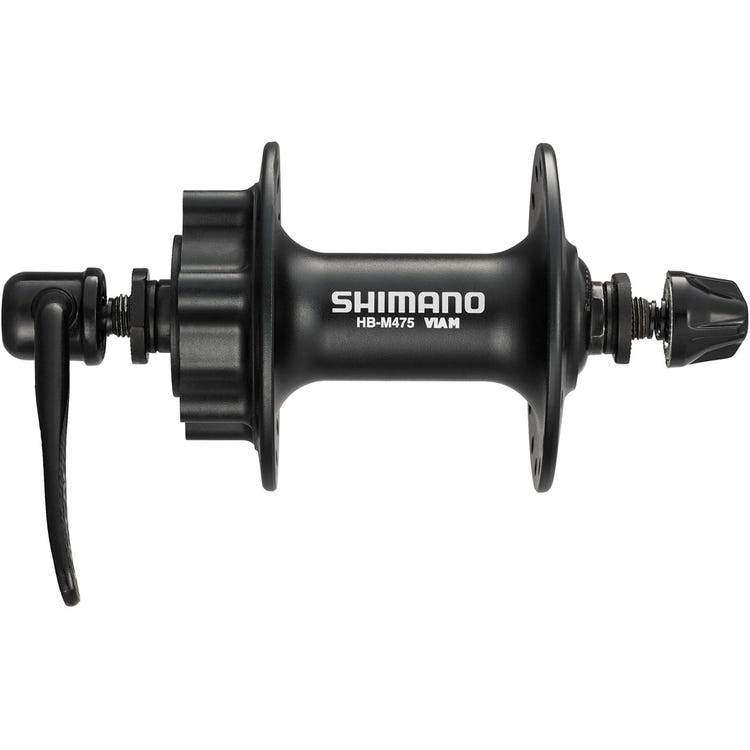 Shimano Deore HB-M475 disc front hub 6-bolt black
