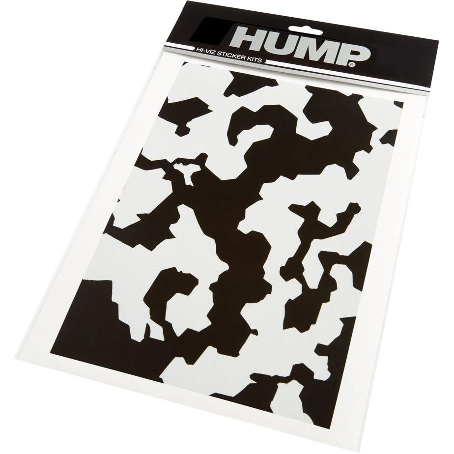 HUMP Hi-Viz reflective sticker sheet