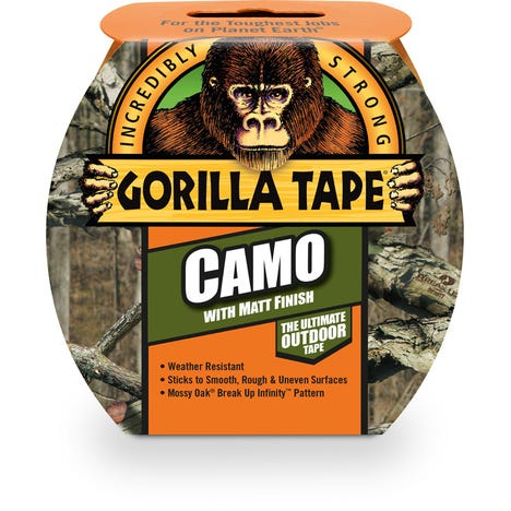 Camo Tape 8.2m x 48mm Roll Pack of 8
