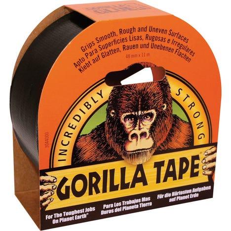 Black Tape 11m x 48mm Pack of 6