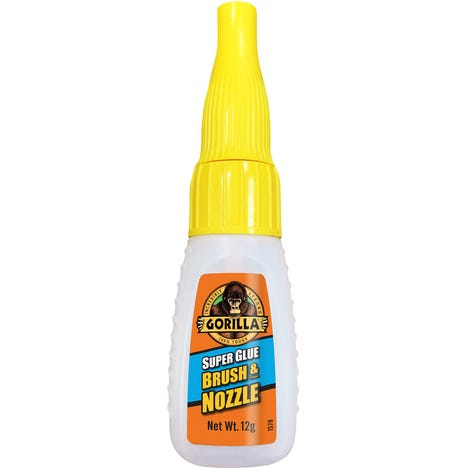 Superglue Brush And Nozzle Pack of 6