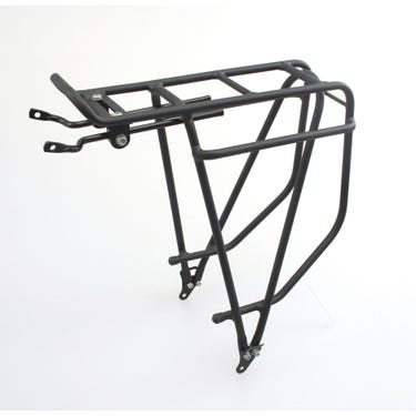 Summit rear pannier rack - alloy black