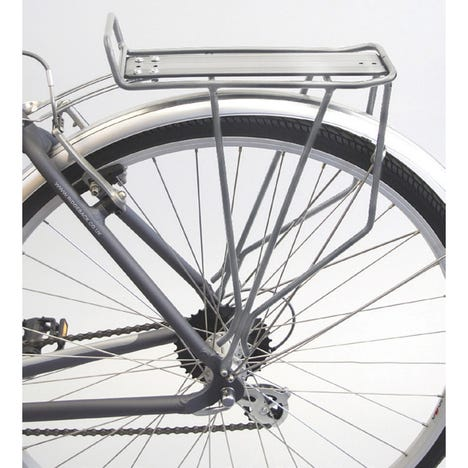M Part Trail rear pannier rack - silver