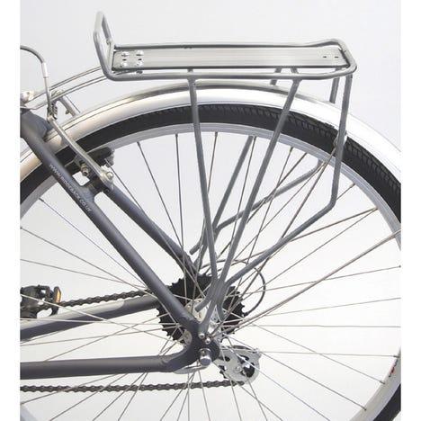 Trail rear pannier rack - silver