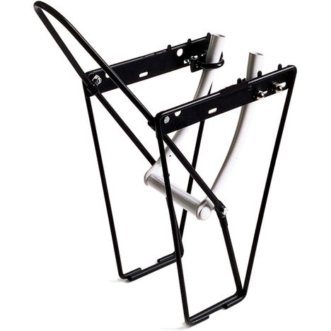 M Part FLRB front low rider rack with mounting brackets and hoop - alloy black