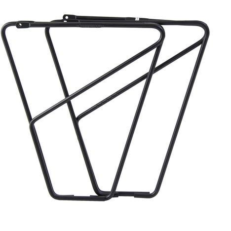FLR front low rider rack for braze on fitting - alloy black