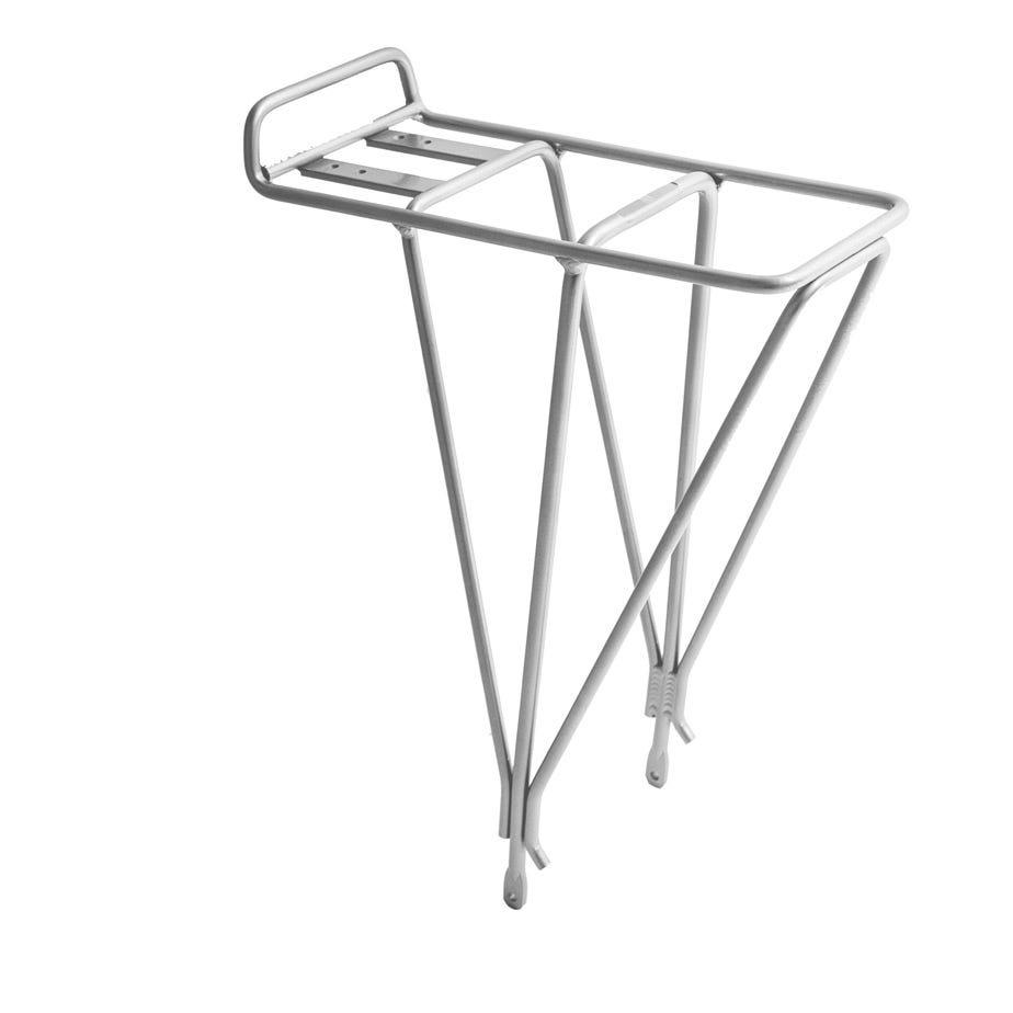 M Part AX3 non disc rear rack - alloy silver