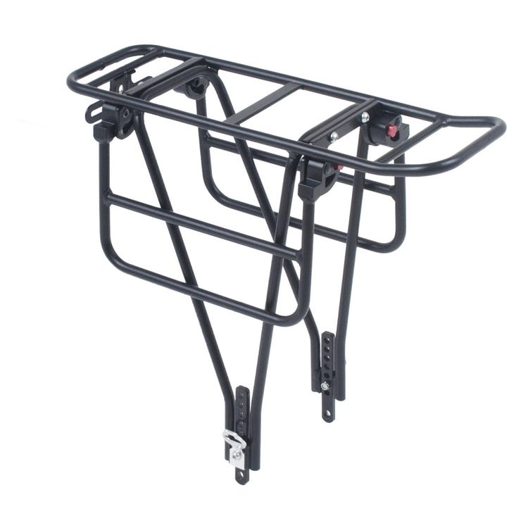M Part AX2 Xtra duty rack with tool free folding wings for wide loads