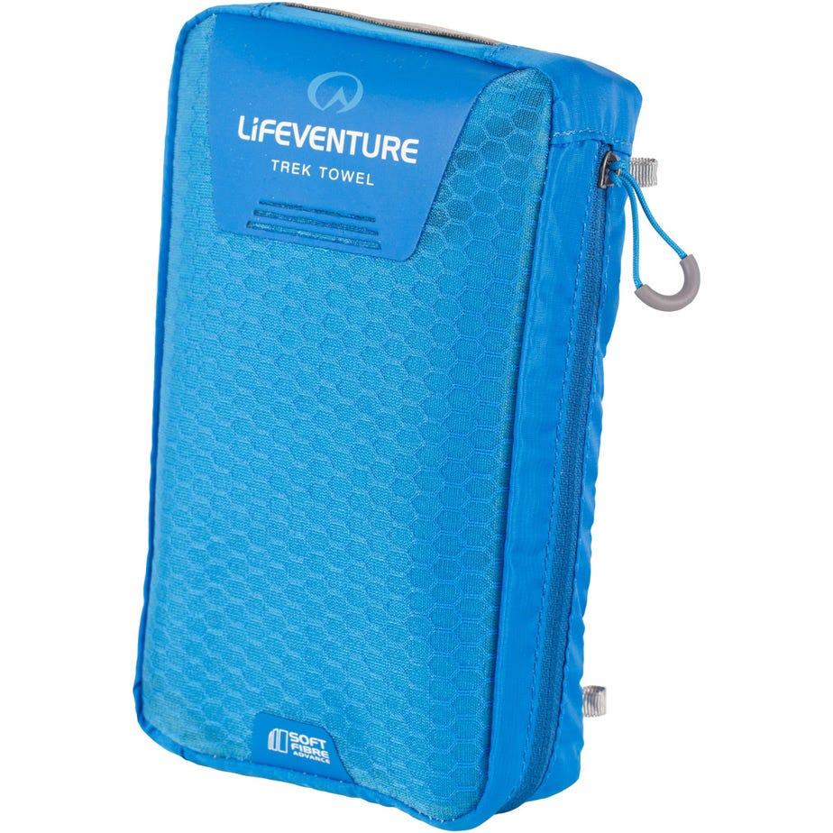Lifeventure SoftFibre Trek Towel - Giant - Blue