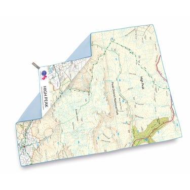 SoftFibre OS Map Towel - Giant - High Peak