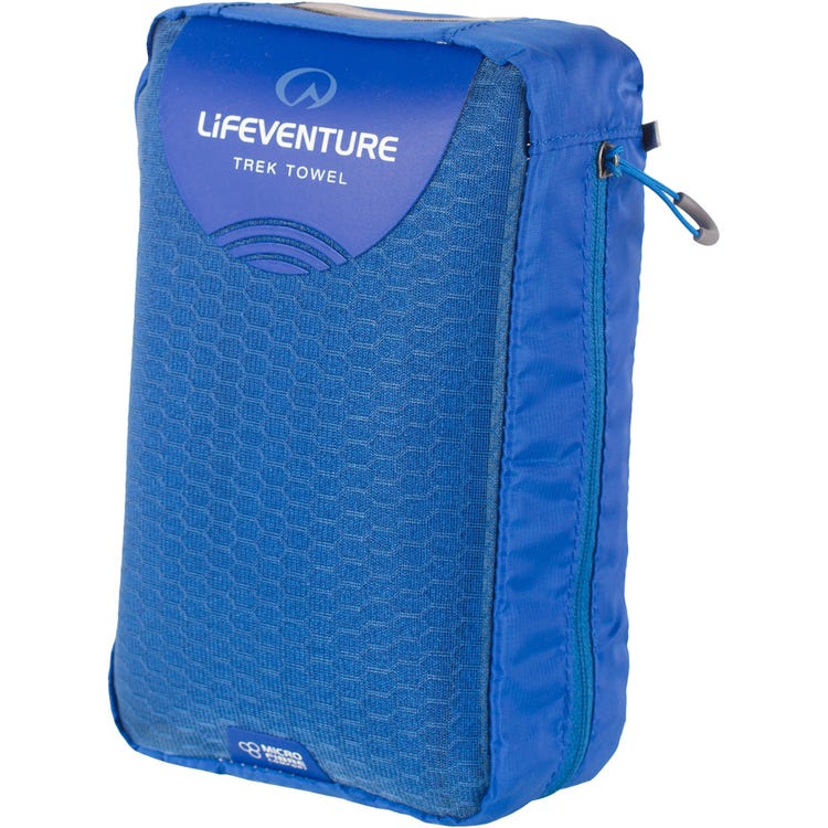 Lifeventure MicroFibre Trek Towel - Giant - Blue