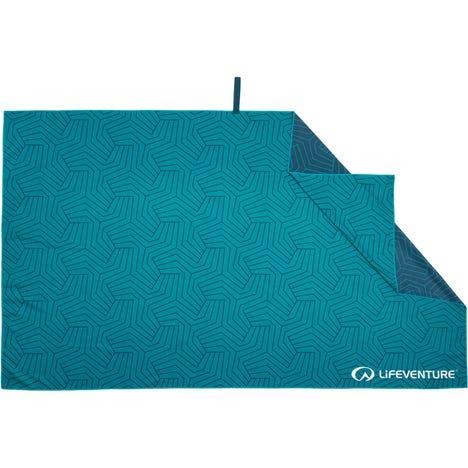 Recycled SoftFibre Trek Towel - Giant - Teal