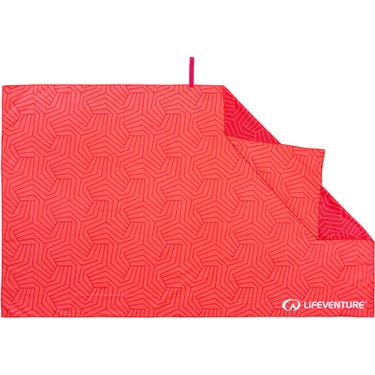 Recycled SoftFibre Trek Towel - Giant - Coral