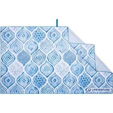 Recycled SoftFibre Trek Towel - Giant - Santorini