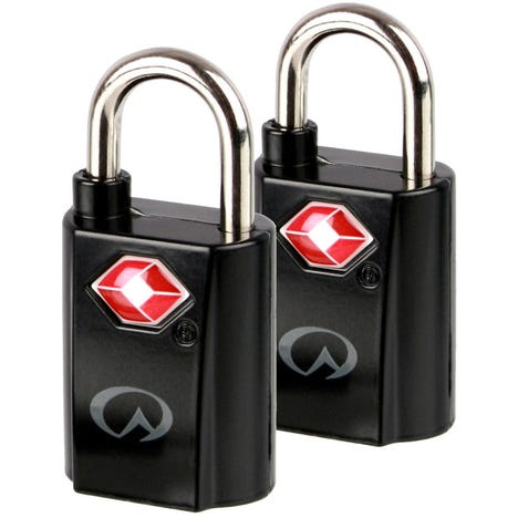 Lifeventure TSA Mini Padlocks x 2