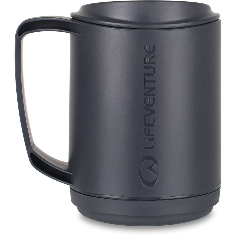 Lifeventure Ellipse Insulated Mug - Graphite