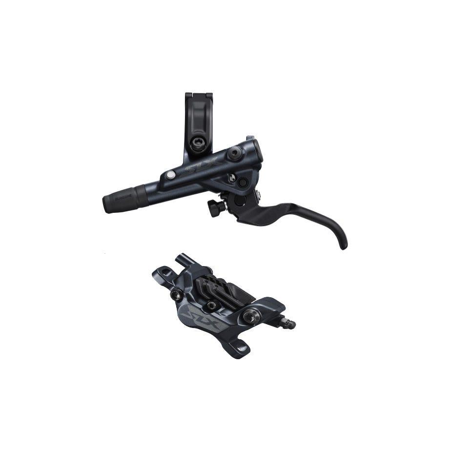 Shimano SLX SLX BR-M7120/BL-M7100 4 pot bled brake lever/post mount calliper