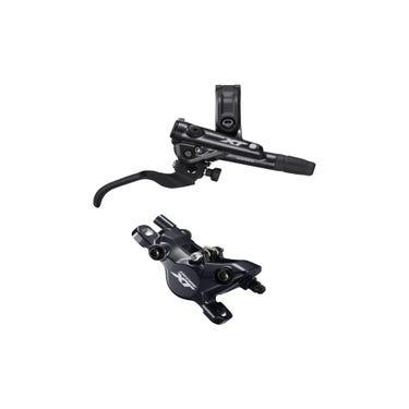BR-M8100 XT bled I-spec-EV compatible brake lever and calliper