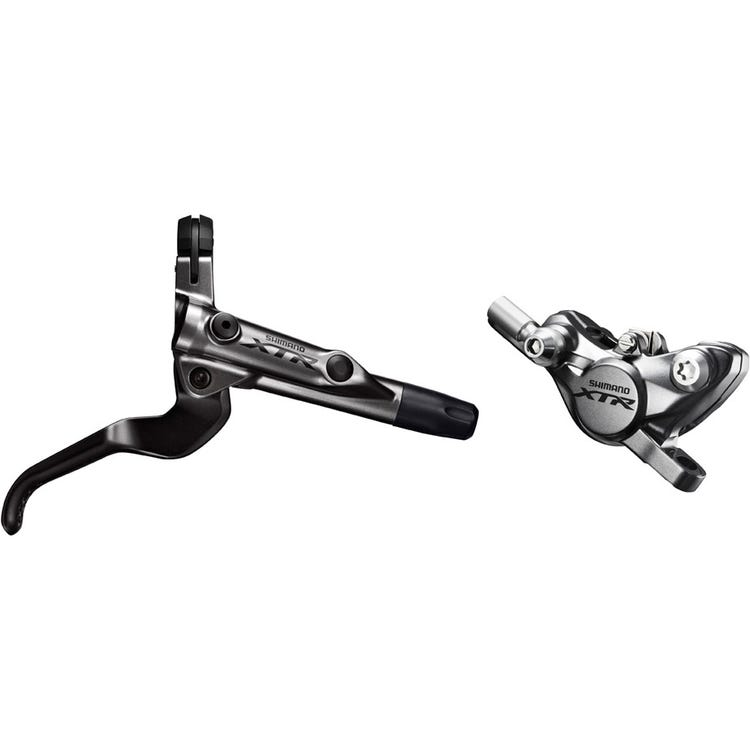 Shimano XTR BR-M9000 XTR bled I-spec-II ready brake lever/Post mount calliper