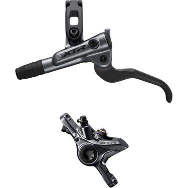 BR-M9100 XTR bled I-spec-EV ready brake lever/Post mount calliper