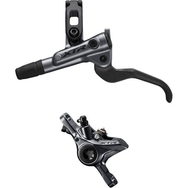 Shimano XTR BR-M9100 XTR bled I-spec-EV ready brake lever/Post mount calliper