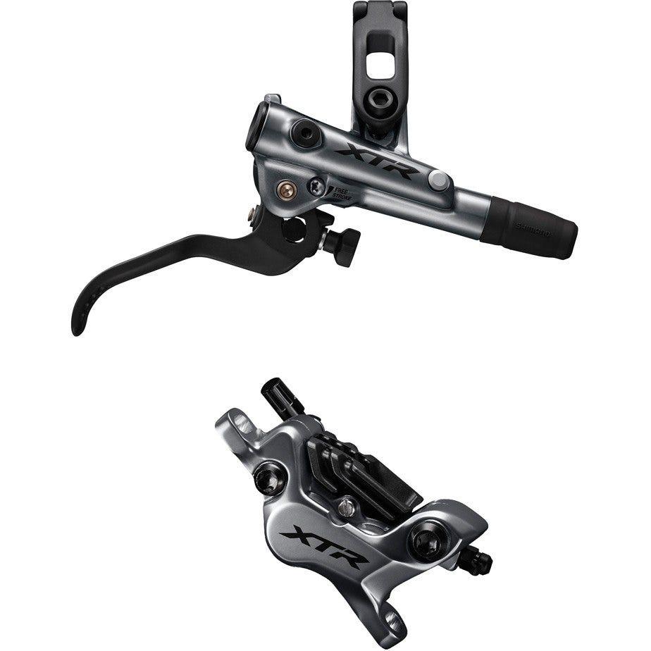 Shimano XTR BR-M9120 XTR bled I-spec-EV ready brake lever/Post mount 4 pot calliper