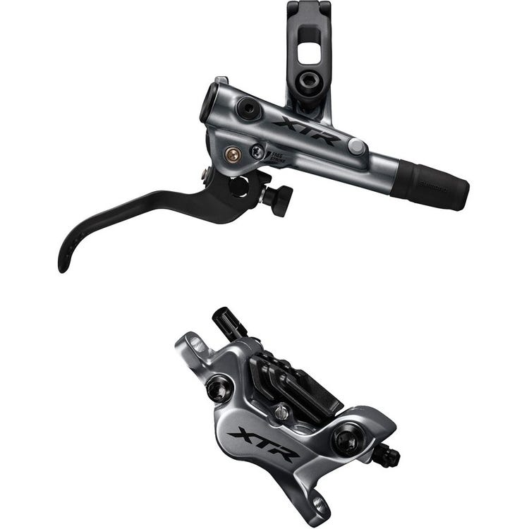 Shimano XTR BR-M9120 XTR bled I-spec-EV ready brake lever/Post mount 4 pot calliper