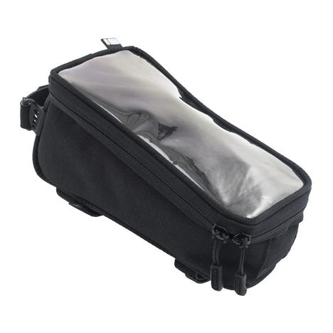 TT20 top tube bag with phone window and stealth cable port