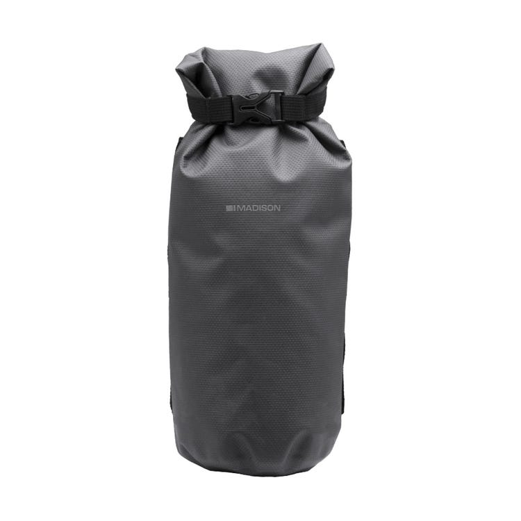 Madison Caribou waterproof, welded cylinder roll bag, suits fork cradle MCB911