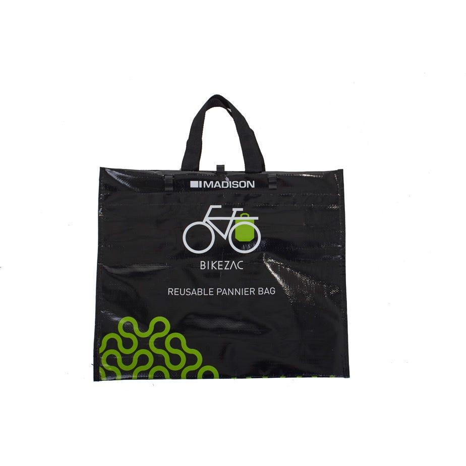 "Madison Bikezac - the rack mounted ""bag for life"""