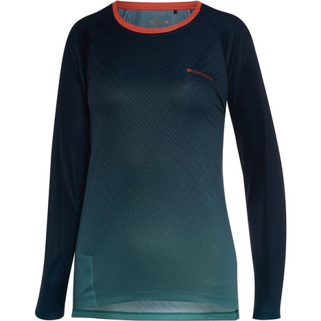 Flux Enduro women's long sleeve jersey, diamonds