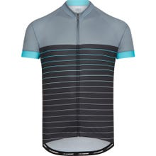 Madison Peloton men's short sleeve jersey, pin stripes