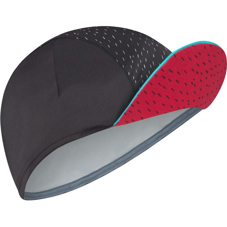 Madison Sportive poly cotton cap, rain drops