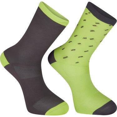 Sportive long sock twin pack, rain drops