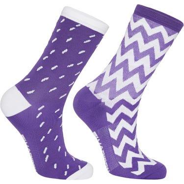 Sportive mid sock twin pack, ziggy