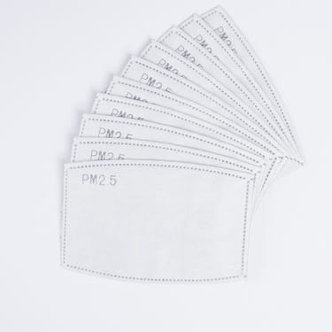 Element reusable face covering disposable inserts