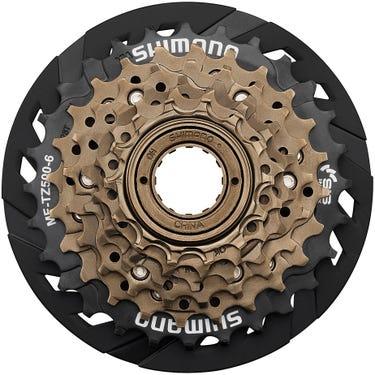 MF-TZ500 6-speed multiple freewheel, 14-28 tooth