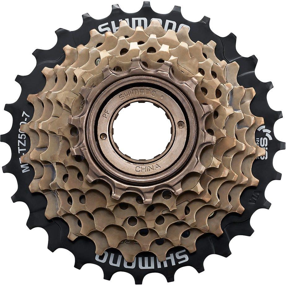 Shimano Tourney / TY MF-TZ500 7-speed multiple freewheel