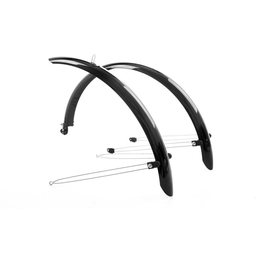 M Part Commute full length mudguards 24 x 60mm black