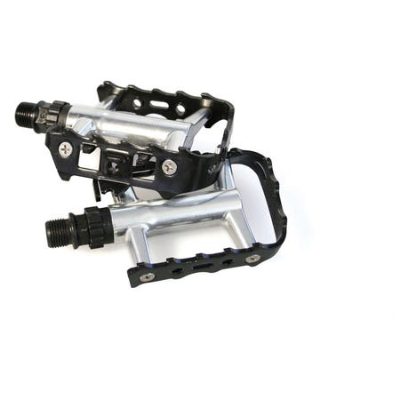 Classic metal cage pedals - 9/16 inch thread
