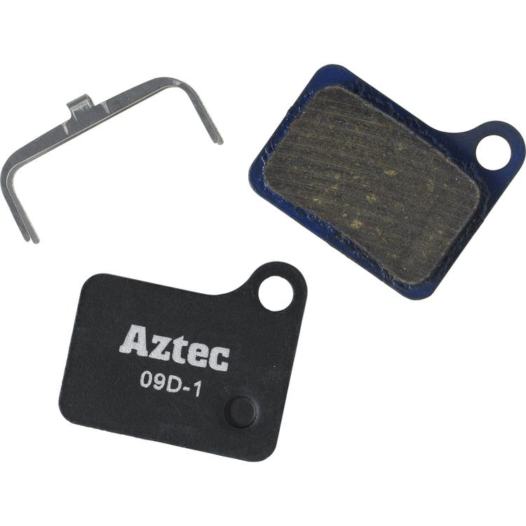Aztec Organic disc brake pads for Shimano Deore M555 hydraulic / C900 Nexave