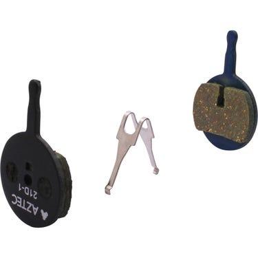 Organic disc brake pads for Avid BB5, box of 25