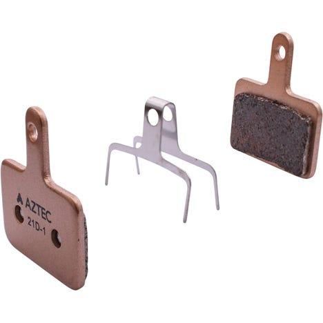 Aztec Sintered disc brake pads for Shimano Deore M515/M475/C501/C601 Mech/M525